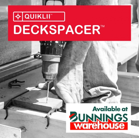 QUIKLII Now Available at Bunnings Warehouse